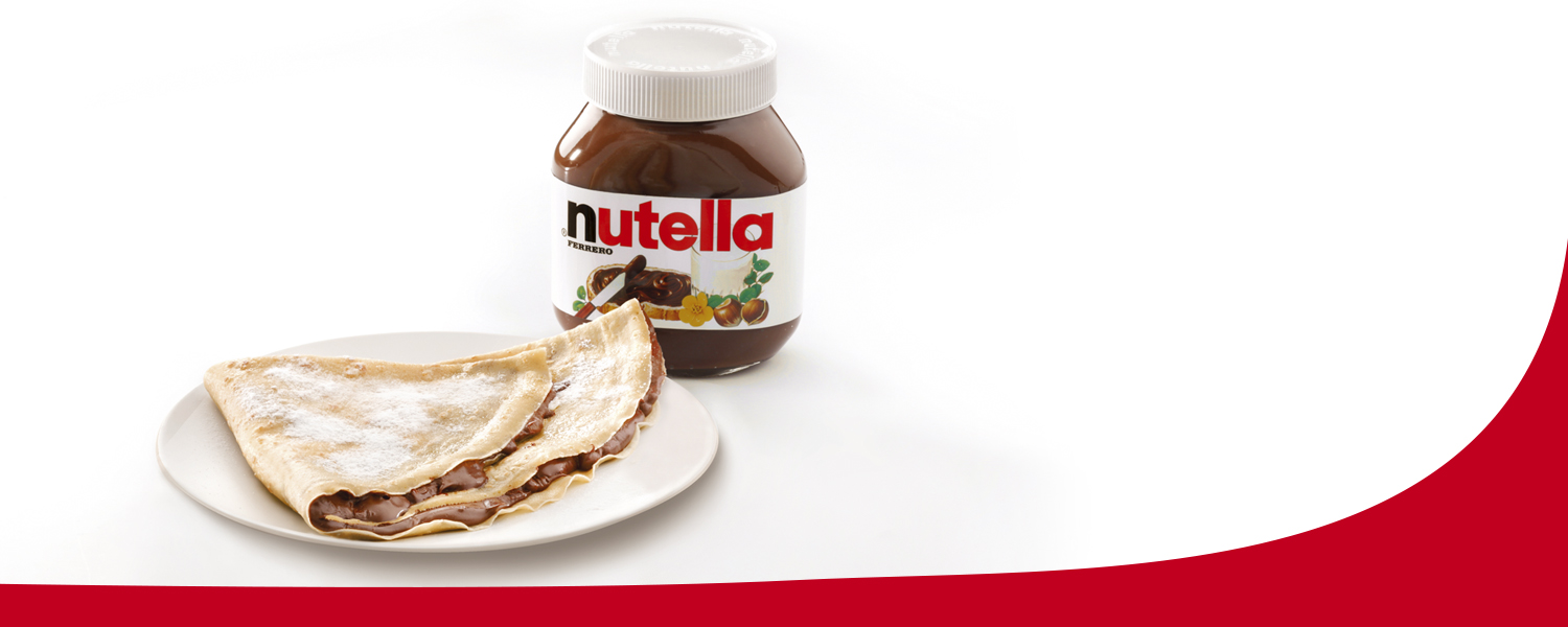 I like crepes con Nutella